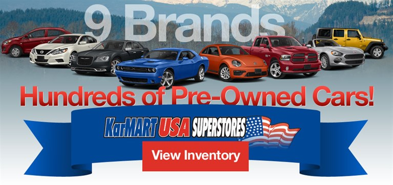 9 Brands, Hundreds of Pre-Owned Cars